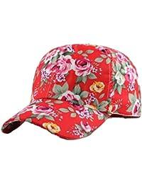 Las Señoras De Los Hombres De La Outdoor Las Muchachas De Moda Ajustable  Imprimieron El Sombrero 40573c13986
