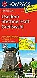 Usedom - Stettiner Haff - Greifswald: Fahrradkarte. GPS-genau. 1:70000 (KOMPASS-Fahrradkarten Deutschland, Band 3023)