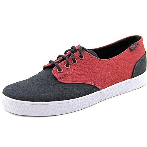 C1RCA  Lopez 13,  Unisex - Erwachsene Sneaker Oxblood/Black