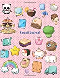 "Kawaii Journal: SUPERCUTE 110 Blank Lined & Numbered Pages To Write In | Cream Paper | Perfect Binding | Large Letter Format 8.5"" x 11"" 