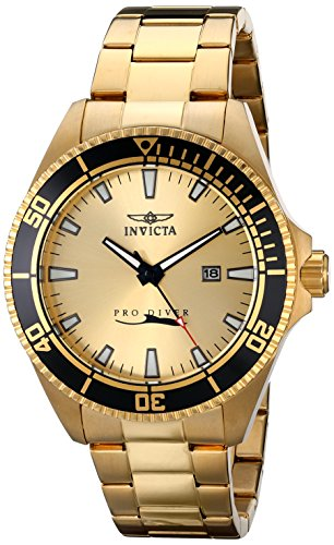 51o2NppLJnL - Invicta Pro Diver Gold Mens 15186 watch