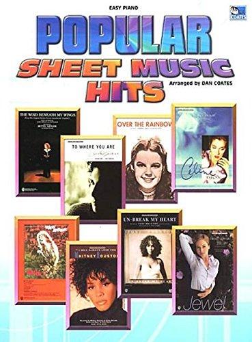 Popular Sheet Music Hits: (Easy Piano) (Alfred Sheet Music)
