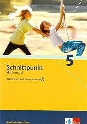 Schnittpunkt - Ausgabe für Nordrhein-Westfalen - Neubearbeitung. Mathematik für Realschulen: Schnittpunkt - Ausgabe für Nordrhein-Westfalen - ... mit Lernsoftware und Lösungsheft 5. Schuljahr