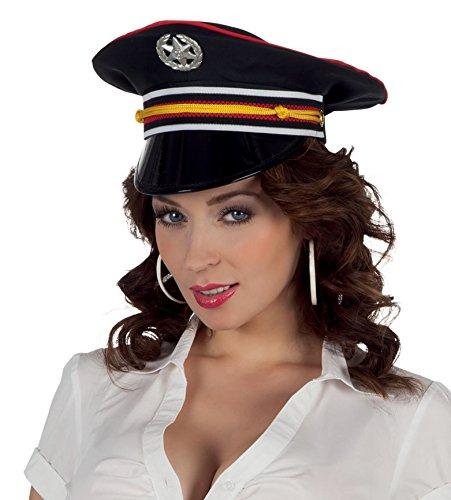 hsenenmütze Kamerad, Einheitsgröße, dunkelblau (Deutscher Offizier Hut)