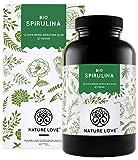 NATURE LOVE® Bio Spirulina Presslinge. 100% reine Bio Spirulina Alge ohne Zusätze. 500 Tabletten. Hochdosiert mit...