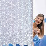 QEWA Duschvorhänge Shower Curtains Polyester Dicker Opaque Schimmel-wasserdicht Bad Bad Vorhang (78.74 * 78.74 Zoll) , 180*180cm