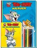 """Malset """"Tom & Jerry"""": mit Stiften"""