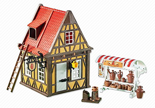 PLAYMOBIL 6524 Knights Classic Edition - Töpferei (Folienverpackung)