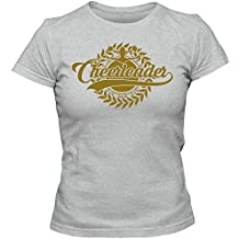 Cheerleader Tee-Shirt | Adult Femme | Cheerleader | Baseball | Football | Basketball | American-Sports, Couleur:Graumeliert (Grey Melange L191);Taille:Large