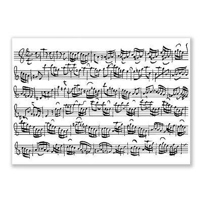 Cartolina accessori fogli–arrangiate per musicisti:-articolo/regalo articolo [note/holzweißig]