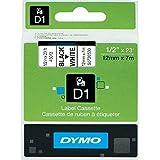 Dymo D1 Etiquettes Standard 12 mm x 7 m - Noir sur Blanc