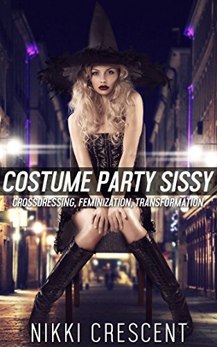 COSTUME PARTY SISSY (Crossdressing, Feminization, Transformation) (English (Crossdressing Halloween)