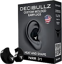 Decibullz - Tapones antiruido moldeables para los oídos, talla única