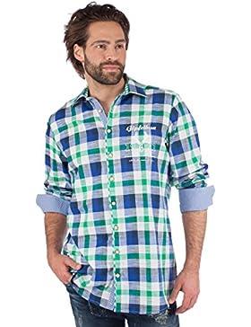 Orbis Trachtenhemd 920001-3259 grün blau