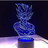 Para niños Dragon Ball Z Vegeta Super Saiyan llevó la lámpara de...