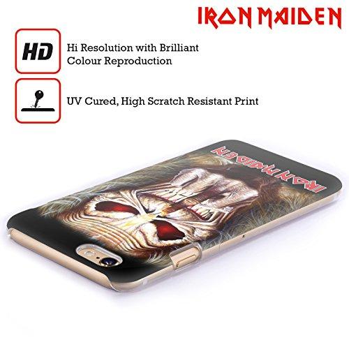 Ufficiale Iron Maiden Best Of Beast Arte Cover Retro Rigida per Apple iPhone 6 / 6s Candle Finger