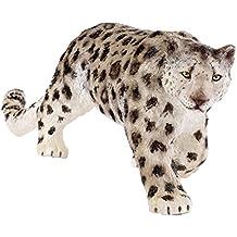 Ousdy - Figura blanda realista de Leopardo de las Nieves (RC16027W)