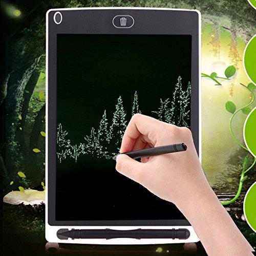 FUNRUI 7,5 Zoll Mini Grafiktabletts Schreibtafel LCD Grafik Tablette mit Stift für Schreiben Rekord und Malen