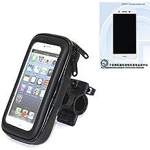 Montaje de la bici para Huawei G8 Mini, montaje del manillar para smartphones / teléfonos móviles, de aplicación universal. Conveniente para la bicicleta, motocicleta, quad, moto, etc. repelente al agua, a prueba de salpicaduras a prueba de lluvia, sostenedor del teléfono móvil de la bicicleta. | Bastidores de bicicletas Bikeholder bicicletas Navi titular titular GPS Pannier Huawei G8 Mini manillar montar la caja al aire libre