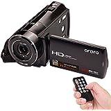 """Andoer ORDRO 1080P Full HD Cámara de Vídeo Digital HDV-V7 Max. 24 megapíxeles 16 × El Zoom Digital con 3.0 """"giratoria Pantalla LCD Apoyo Detección de Rostro"""