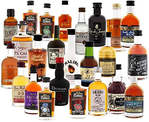 Rum Adventskalender Rot