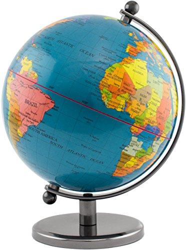 BRUBAKER Designer Globus Planet Edelstahl