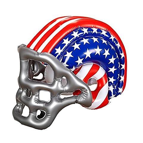 Footballeur Americain - Casque footballeur américain USA gonflable