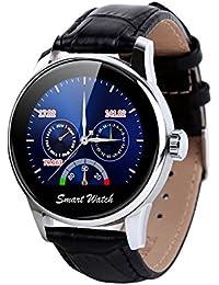 Fantime Smartwatch Relojes Inteligentes Teléfonos Bluetooth Soporta Llamada Mensaje SIM Podómetro/Monitor de sueño/