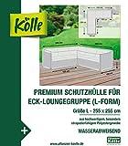 Kölle Premium Schutzhülle für Eck-Loungegruppe (L-Form) 255x255 cm