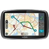 """TomTom GO 6100 World- Sistema de navegación GPS (6"""" de pantalla táctil capacitiva, soporte magnético, control de voz), (versión europea España, Italia)"""