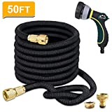 TheFitLife Expandable Garden Hose Pipe With Strongest Triple Core Latex and Solid Metal
