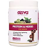 [Sponsored]Oziva Protein & Herbs For Women Whey Protein Shake With Ayurvedic Herbs (Cafe Mocha, 17 Servings)