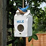 garden mile® Colourful Novelty 3 In 1 Garden Bird Houses Highly Detailed Predator Proof Bird Nesting Boxes For Small… 15