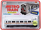 #2: Centy Toys Metro Train, Silver