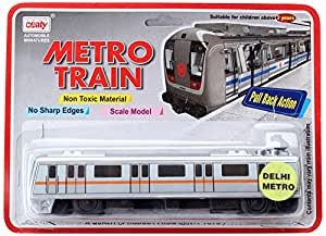 Centy Toys Metro Train, Silver