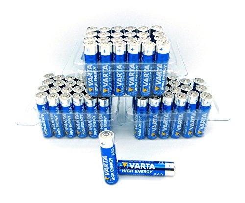 Varta 4903 3x/24x High Energy Mikro AAA Batterie Alkaline MN2400 Sonderpack Lr03