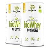 Die besten Organic Whey Protein Pulver - ProVista Bio Whey Protein - organic - Molkeneiweiss Bewertungen