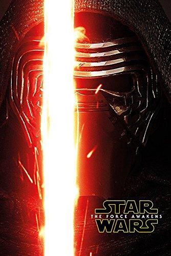 empireposter Star Wars EP7 Kylo Ren Episode 7 Poster Plakat Größe 61x91,5cm, Papier, bunt, 91.5 x 61 x 0.14 cm