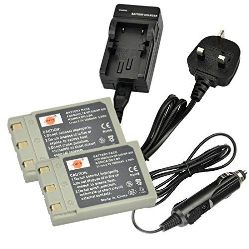 dste-2pcs-np-500-rechargeable-li-ion-battery-charger-dc17u-for-minolta-np-500-np-600-konica-dr-lb4-a