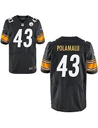 43 Troy Polamalu Trikot Pittsburgh Steelers Jersey American Football Shirt Mens