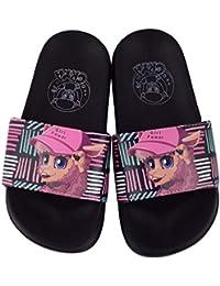 Crya Girl Power Boys and Girls Slide On Flip Flop Slipper