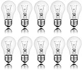 Spectrum 10 x Glühbirne 100W E27 klar Glühlampe 100 Watt Glühbirnen Glühlampen