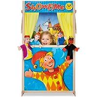Eichhorn Puppet Theater Booth Guiñol - Juegos de rol (Guiñol, 3 año(s), 6 año(s), Niño/niña, Multicolor, Madera)
