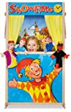 Eichhorn Wooden Puppet Theater Booth (Multi-Colour)
