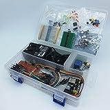 Electronique Composant Best Deals - Basic Electronics Starter Kit: kit de Proto avec 12V / 2A alimentation, des capteurs et des composants