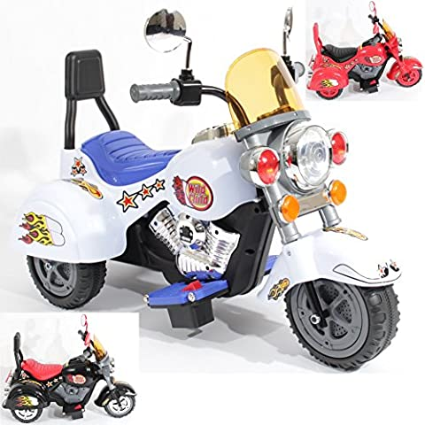 Charles Jacobs Harley Ride on Kids Motorcycle Electric Scooter Motorbike 6V Battery Operated Toy Trike