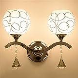 Wandbeleuchtung,Neue Wand Lampe Leuchte Wohnzimmer Schlafzimmer Bett TV-Wand Einfache moderne Treppe Flurbeleuchtung