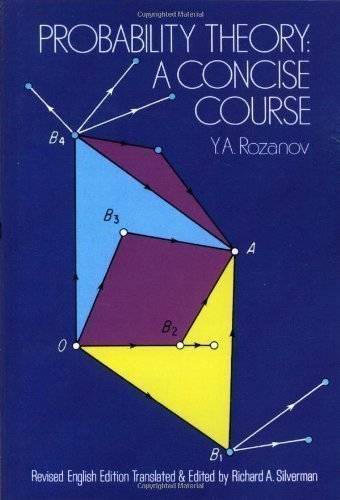 Probability Theory: A Concise Course (Dover Books on Mathematics) by Rozanov, Iu.A. New Edition (1978)