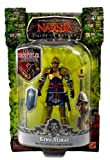 Jakks Pacific Year 2007 Disney Pictures Movie Series The Chronicles of Narnia Prince Caspian 4 Inch Tall Basic Action Figure - KING MIRAZ with Shield and Sword by Jakks Pacific
