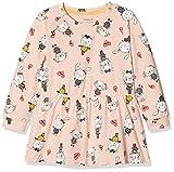 NAME IT Baby-Mädchen Kleid NMFDAVIOLA LS Tunic, Rosa (Peachy Keen), 98